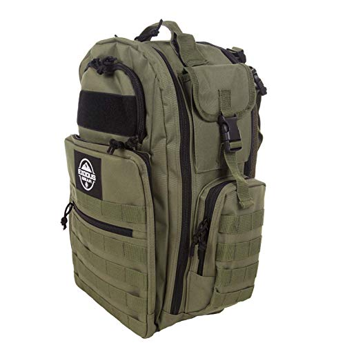 Diaper Bag Backpack by Exodus Gear + Adventure Diaper Bag with Changing Pad + Daddy Diaper Bag for Men and Woman + Hiking Diaper Bag + Dad Diaper Bag + Unisex Diaper Bag + Baby Care (Green) by Exodus Gear (Image #9)