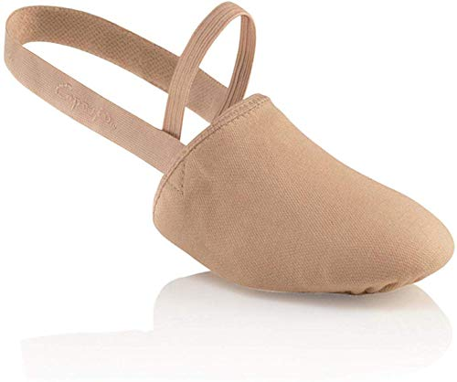 Capezio Canvas Pirouette ii Dance Shoe, Nude, Small/6-7.5 M US