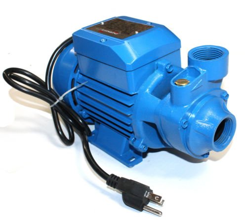 PS-NEW 1/2HP Electric Industrial Centrifugal Clear Clean Water Pump Pool Pond 375W