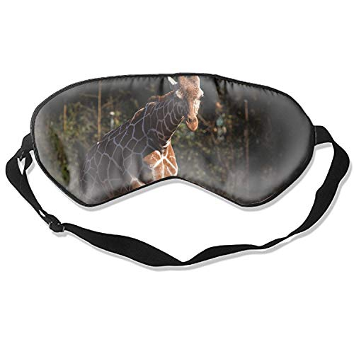 Sleep Mask Premium Quality Giraffe Zoo Atlanta Eye Mask - Lightweight with Adjustable Strap - Blocks The Light Completely - Best for Travel, Insomnia or Quiet Night Sleep