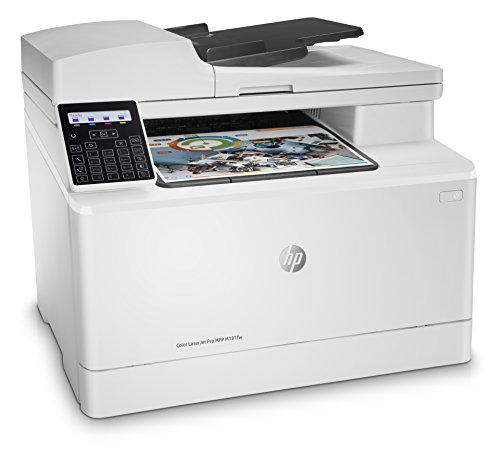 HP Color Laser Jet Pro M181FW Network and Wireless Printer