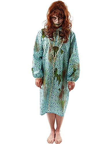 Possessed Child Adult Costume, One Size Blue