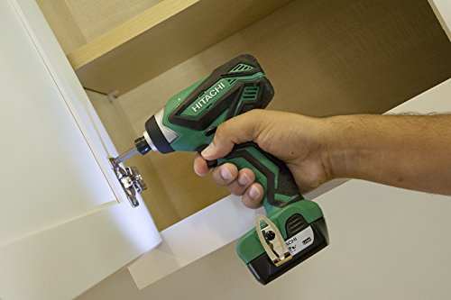 Hitachi WH10DFL2 12-Volt Peak Cordless Lithium Ion Impact Driver Kit (Lifetime Tool Warranty)