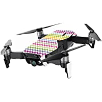 MightySkins Skin for DJI Mavic Air Drone - Rainbow Chevron | Min Coverage Protective, Durable, and Unique Vinyl Decal wrap cover | Easy To Apply, Remove, and Change Styles | Made in the USA