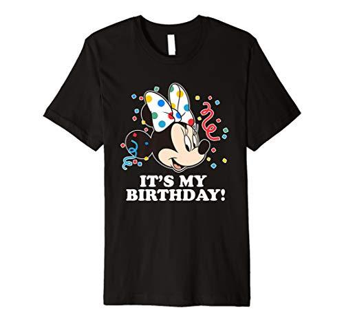 Disney Minnie Mouse It's My Birthday Premium T-Shirt