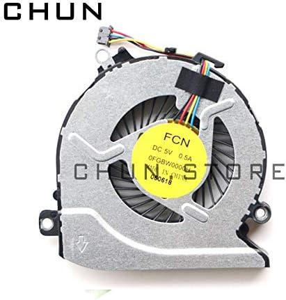 FCQLR Nuevo CPU Ventilador compatibles para HP Star Wars 15-an 15-an001tx 15-an002tx 15-an003tx 15-an005tx enfriamiento Ventilador