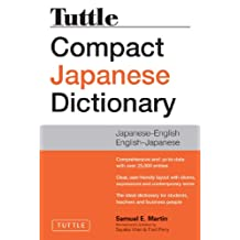 Tuttle Compact Japanese Dictionary, 2nd Edition: Japanese-English English-Japanese
