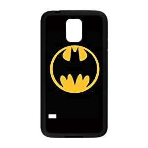 Batman Logo plastic funda Samsung Galaxy S5 cell phone case funda black cell phone case funda cover ALILIZHIA11844