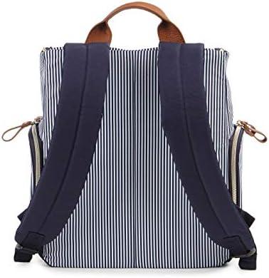 Amazon Com Bananafish Striped Breast Pump Backpack Blue White