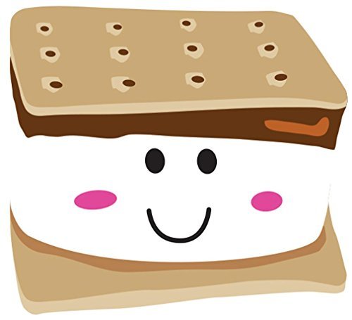 iscream X-Pressive! Smiley S'more Chocolate Scented Pack of 8 Notecards with Envelopes
