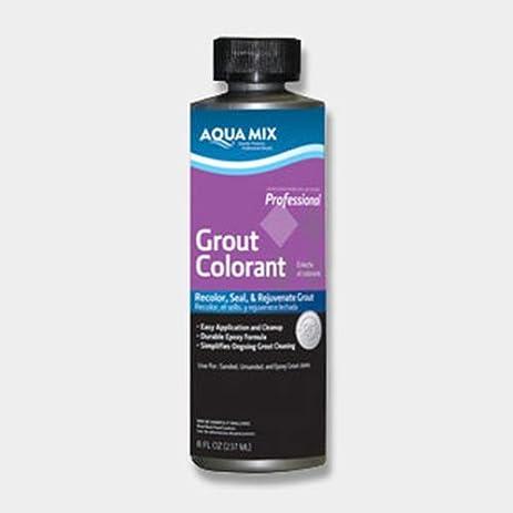 Aqua Mix Grout Colorant - 8 oz Bottle - Black - Tile Grout ...