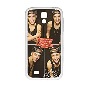 HUAH Justin Bieber's Smile Cell Phone Case for Samsung Galaxy S4