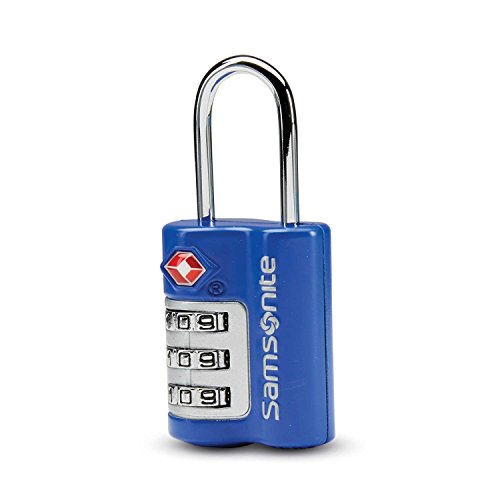 Samsonite Combination Lock, Blue Fantasy