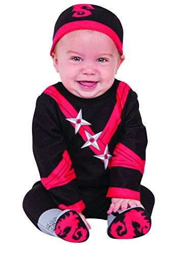 Rubie's Ninja Baby Costume, As As Shown, Infant]()