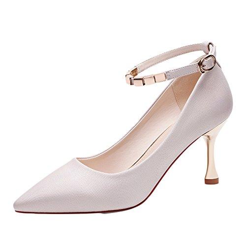 EU De De Mujer UK De 4 5cm Altos 5 Zapatos Moda La Zapatos Mujer 37 Partido Boda La Sexy Nocturno 7 Tacones Negro Corte Zapatos Club Pink Trabajo qqP0WgZ4