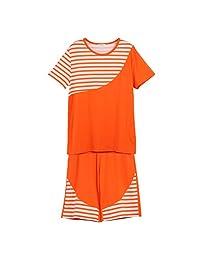 Men's Navy striped cotton pajamas/ clothing sleepwear