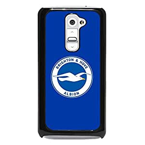 Fresh Blue Background Brighton & Hove Albion F.C Phone Case Cutomized Cover For LG G2