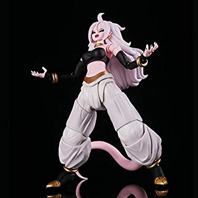 Bowinr Dragon Ball Z Figma Action Figure, Premium Collectible Anime Figure for Home Decor(Android 21): Home & Kitchen