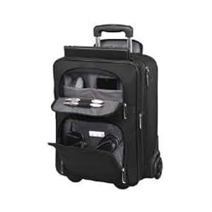 "Toshiba - Advantage laptop trolley 43.9cm (17.3â€); black; 439.4 mm (17.3 ""); 340 x 230 x 440 mm; leather; nylon"