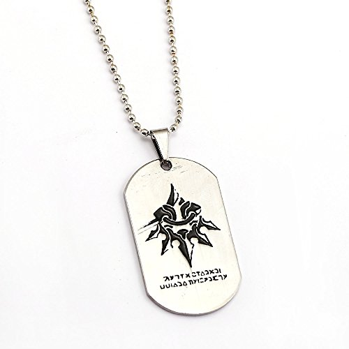 Mct12 - Game Jewelry NieR Automata Necklace Silver Dog Tag ...