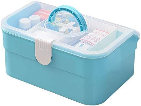 JYYX Caso/estantería hogar del Coche/embalajes médicos Kit portátil de Primeros Auxilios/Emergencia/Supervivencia Caja de la Medicina/contenedor: Amazon.es: Hogar