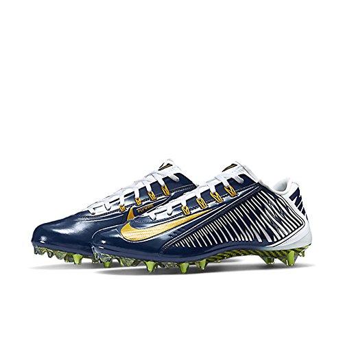 Nike Vapor Carbon Elite TD Herren Fußballschuh Marine / Weiß / Universität Gold