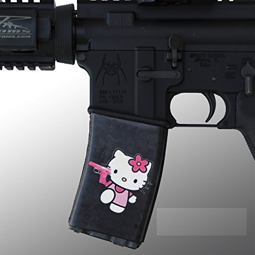 ultimate-arms-gear-2-pack-of-ar-mag-cover-socs-for-30-40rd-polymer-pmag-mags-hello-kitten-pink-pisto