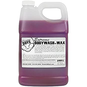 Chemical Guys CWS_107 Extreme Body Wash and Synthetic Wax Car Wash Shampoo (1 Gal)