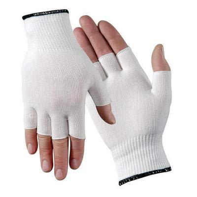 M006M.WLC - Black Overedge - M006 Nylon Glove Liner, Wells Lamont - Bag of ()