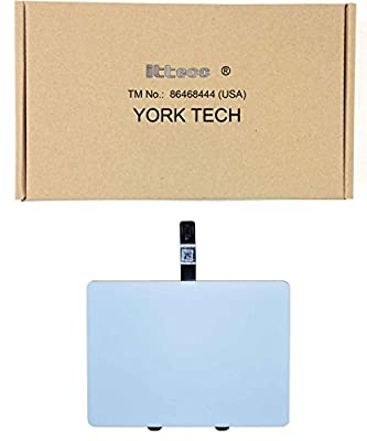"ITTECC Touchpad Trackpad+Ribbon cable Mousepad Fits MacBook 13"" A1342 1661-9551 , 922-9551 , 922-9175 821-0890-A White from york tech"