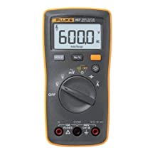 Fluke 107 Ac/dc Current Handheld Digital Multimeter