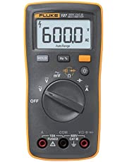 Fluke 107 Ac/dc Current Handheld Digital Multimeter by Fluke 107, Gray