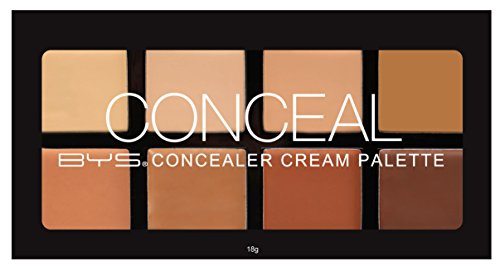 BYS Concealer Cream Palette, Brighten, Neutralize, Conceal