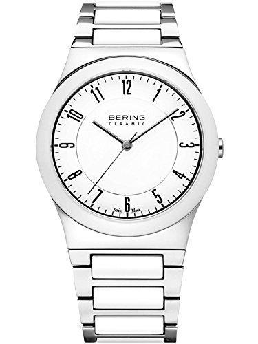 Reloj bering de cerámica de cristal de zafiro Swiss Made 32235-000