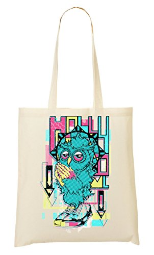 Sac Swaggy Series Sac Fourre Tout Crazy À Hollywood Animal Disco Provisions Colorful Owl qagIwY