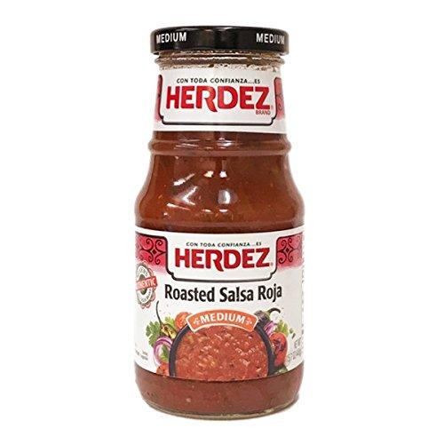Herdez Red Roasted Salsa Medium - 16 OZ