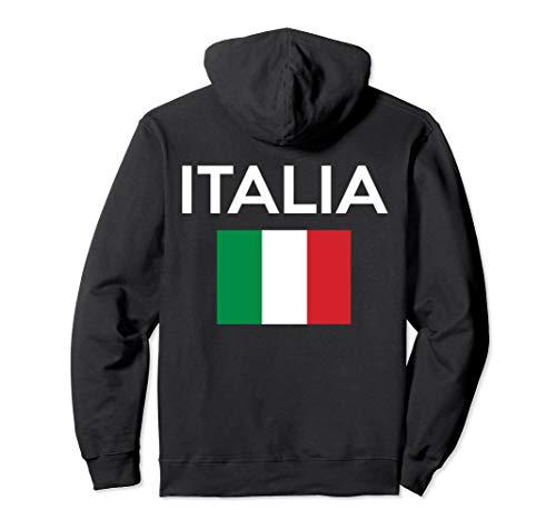 Italian Flag Hoodie Italy Pullover Hoodie