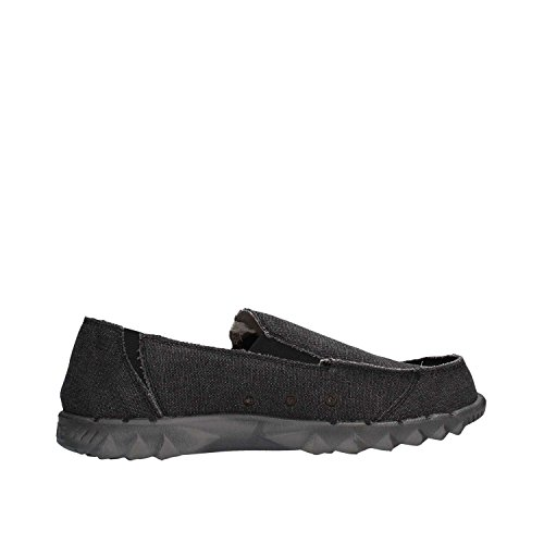 DUDE Schuhe Farty Klassisch Netz Schwarzer Slipper Schuhe / Mule in UK6 to UK15