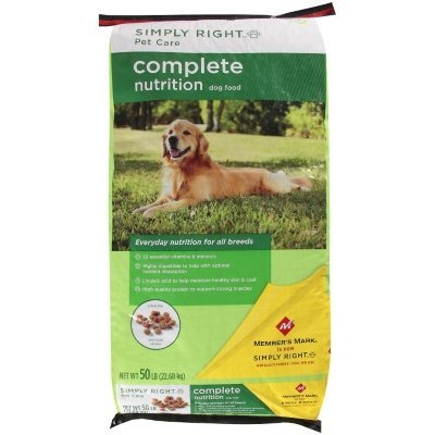 simply right dog food - 1