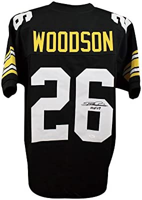 Rod Woodson HOF Autographed Pittsburgh Steelers Custom Black Football Jersey  - JSA COA abd74fec8