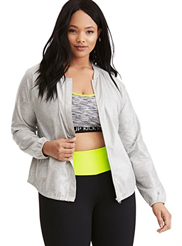 Torrid Active - Laminated Jersey Zip Jacket