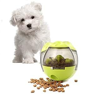 Alimentador de comida para perros juguete comida para perro - pelota