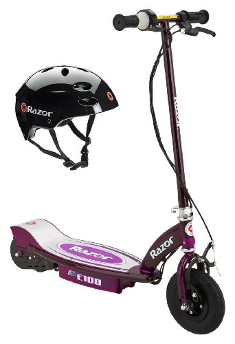 Purple Motor Scooter - 3