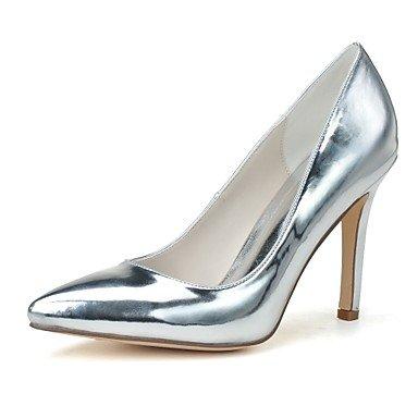 Oro 3 5 5 UK9 4 Verano Talón RTRY Pulg US11 Stiletto Vestidos Mocasines Plata Mujeres Ons Slip 3 amp;Amp; 3A CN45 Formales Primavera De Charol EU43 Zapatos Negro qZgqFwU4