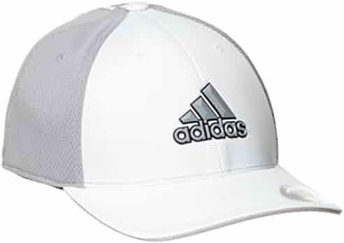 4de71041cd4b2 adidas Tour Climacool Flex-Fit Structured Hat Mens Performance Golf Cap