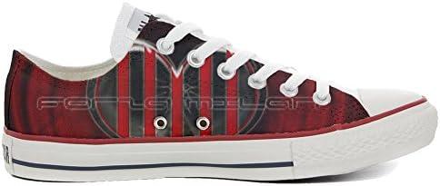 Sneakers Original USA personalisiert Schuhe (Custom Produkt) Slim Forza Milan