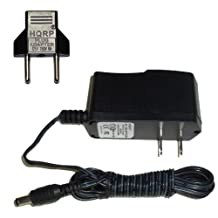 HQRP AC Adapter for Boss DN-2: Dyna Drive / DD-20: Giga Delay / RC-30: Loop Station / BC-2: Combo Drive Pedals, Power Supply Cord + HQRP Euro Plug Adapter