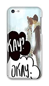 MMZ DIY PHONE CASEOnline Designs fault in our stars kissed his forehead PC Hard new ipod touch 5 case for boys