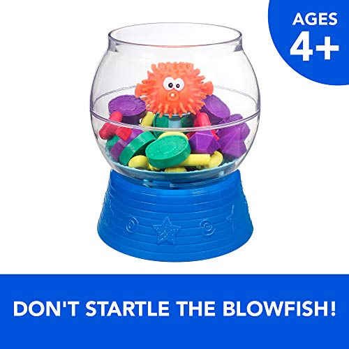 Hasbro Gaming Blowfish Blowup Game for Kids Ages 4 and Up