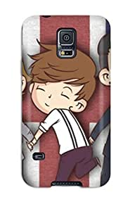 Fashionable Style Case Cover Skin For Galaxy S5- One Direction Cartoon S